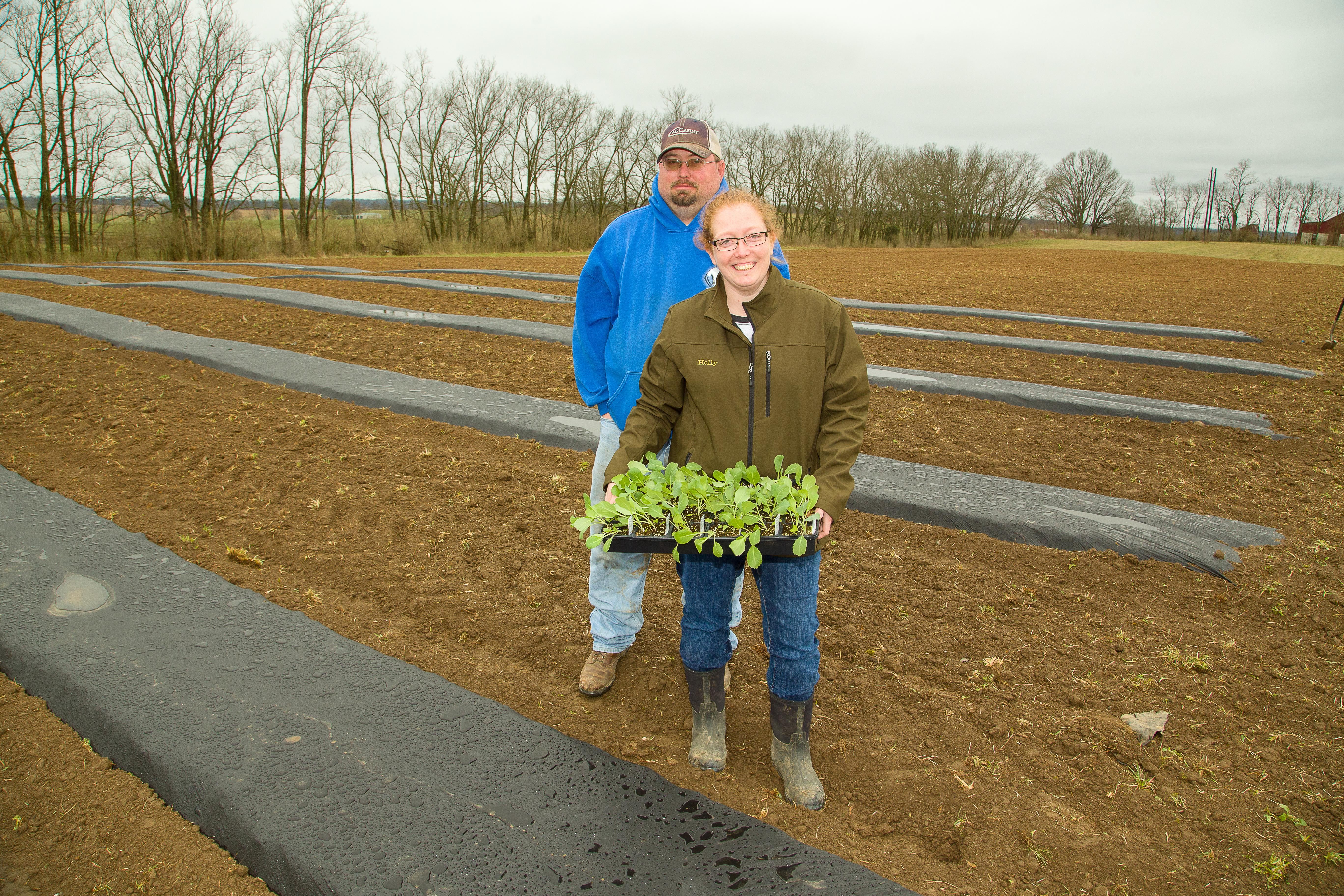 Larry and Holly Laytart, S & L Farms, Cynthiana