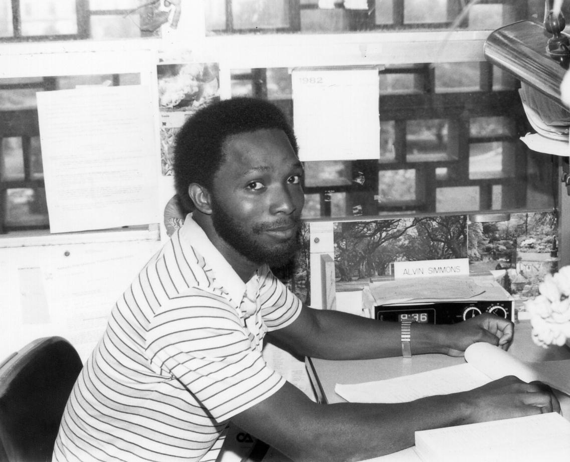 In the early 1980s, Alvin Simmons was a graduate student in the UK Department of Entomology.