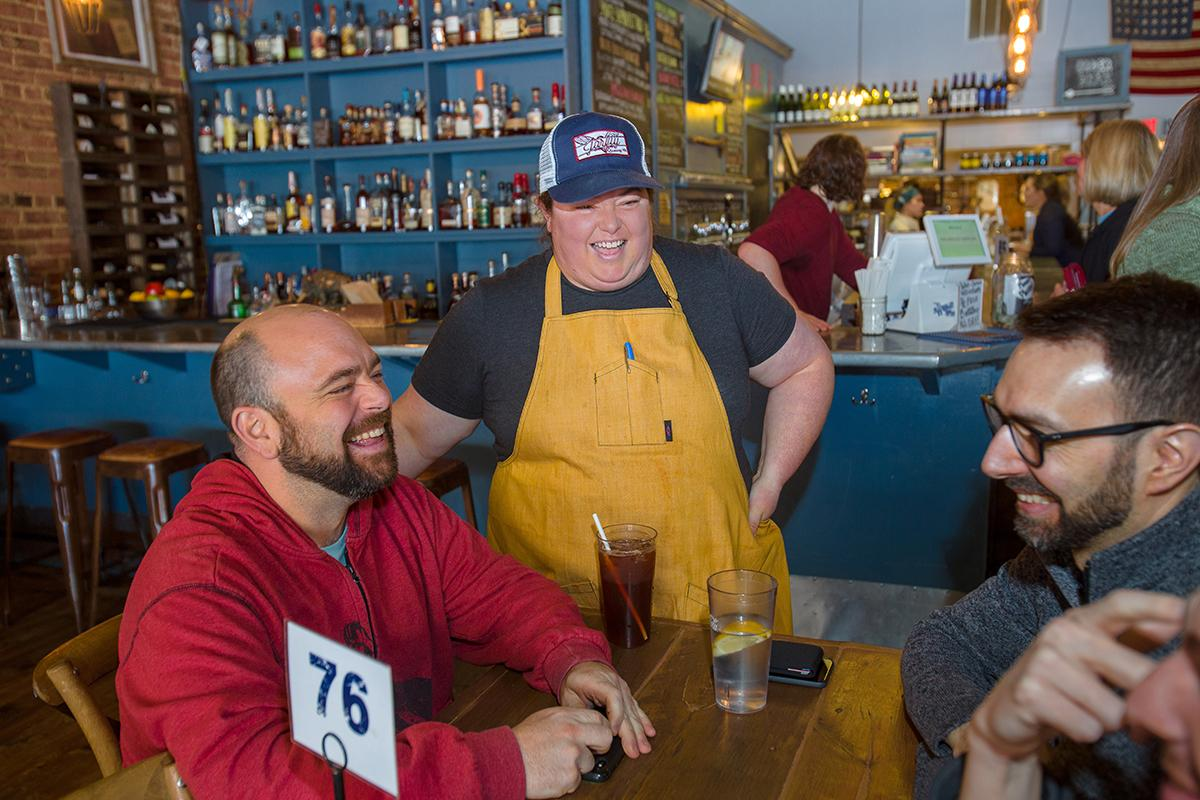 "Kristin Smith ""means business"" in Corbin with her thriving restaurant, The Wrigley Taproom."