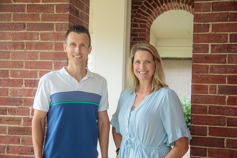 Associate professors Tammy Stephenson and Ryan Hargrove were named endowed professors by the UK Chellgren Center